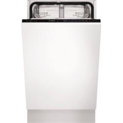 AEG F55410VIO keskeny, beépíthető mosogatógép, A+ energiaosztály