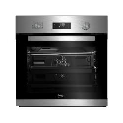 BEKO BIM22303XP Beépíthető sütő, Kapacitás: 71 Liter, Energiaosztály: A, Grill funkció