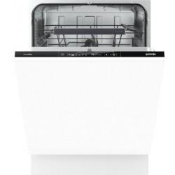 GORENJE GV64160 beépíthető mosogatógép, 13 teríték, A++ energiaosztály, 8 program