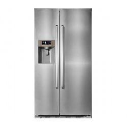 HANSEATIC HSBS 17690WEA1S Side by side hűtő, A+ energiaosztály, NoFrost